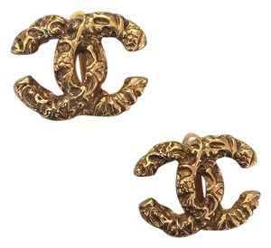 Chanel Chanel CC Clip On Earrings
