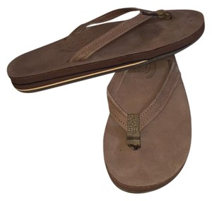 Rainbow Sandals Brown Sandals