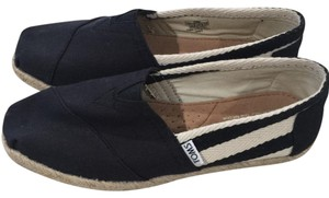 TOMS black/cream Flats