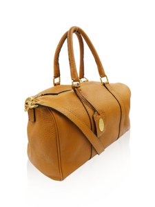 Fendi Leather Satchel in Tan