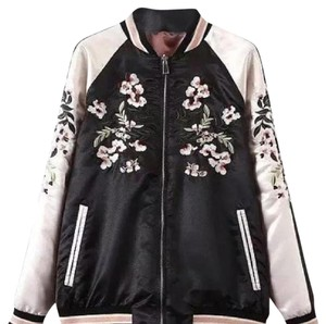 stradivarius Bomber Motorcycle Jacket