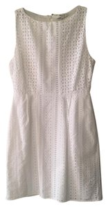 Madewell short dress White Eyelet Summer Spring Textured on Tradesy