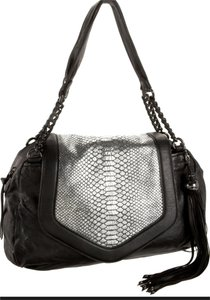 Nanette Lepore Metallic Shoulder Bag