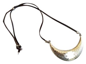 Lucky Brand Zuni leather necklace
