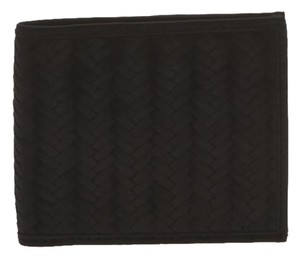 Cole Haan Leather Wallet Billfold Black Clutch