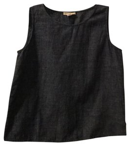 Eileen Fisher Top Dark Denim