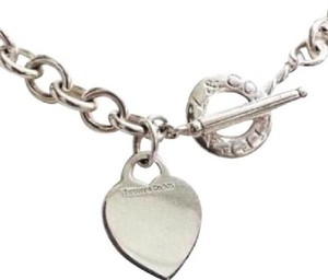 Tiffany & Co. Tiffany & Co Heart and Toggle Necklace