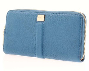 Cole Haan Travel Zip Village II Leather Wallet in Seaport