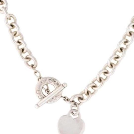 Tiffany And Company Toggle Necklace: Tiffany & Co. Co Heart And Toggle Necklace