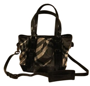 Burberry Tote Beat Check Cross Body Bag