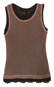 Robert Rodriguez Top Mauve and Brown