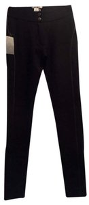 Alberto Makali Leather Strip Pants