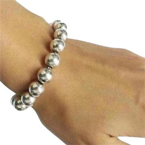 Tiffany & Co. BEAUTIFUL!!! Tiffany & Co. Graduated Bead Bracelet Sterling Silver 7.5