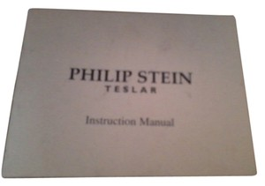 Philip Stein PHILIP STEIN TESLAR WATCH -INSTRUCTION MANUAL & WARRANTY CARD