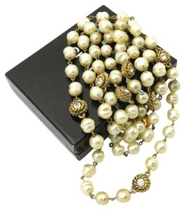 Chanel Chanel Long Pearl Necklace
