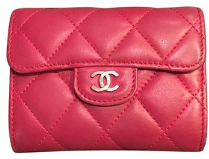 Chanel Quilted Single Flap Small Wallet