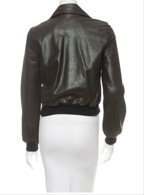 Céline Aviator Motorcyle Leather brown Leather Jacket