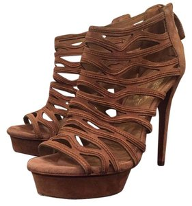 Elie Tahari Tan Sandals