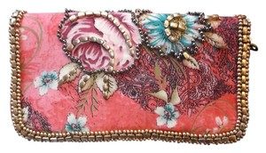 Pier 1 Imports Pier 1 Imports Embellished Pink zip around Wallet