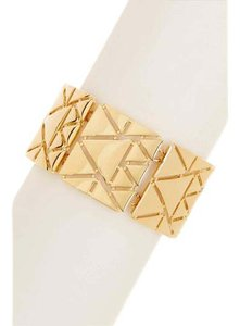 Ralph Lauren NEW Triangular Cutout Flex Bracelet, Gold