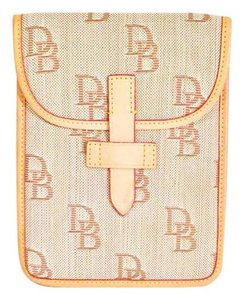 Dooney & Bourke signature monogram db fabric iPad mini sleeve case
