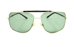 Gucci GG 1906/S Square Aviator Sunglasses 60mm w/ Case