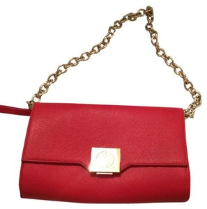 vesace collection thin leather crossbody bag Cross Body Bag
