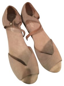 TOMS TAN SUEDE Wedges