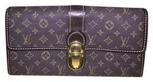 Louis Vuitton Dark Chocolate Brown Clutch