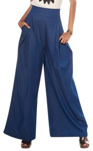 Gracia Wide Leg Pants Denim