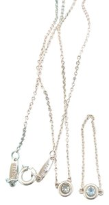 Tiffany & Co. Tiffany & Co Silver Elsa Peretti Color By The Yard Necklace & Ring