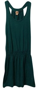 Mossimo Supply Co. short dress Teal on Tradesy