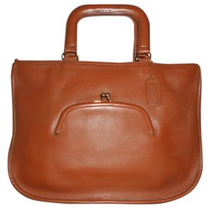 Coach Vintage Leather Briefcase Tote in Brown