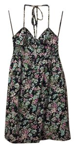 Aéropostale short dress Blue floral on Tradesy