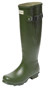 Hunter Vintage Green Boots