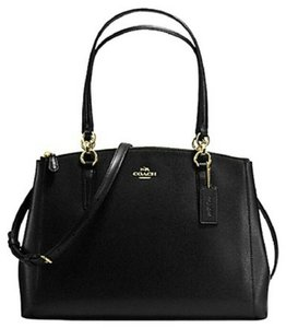 Coach 36721 F36721 Carryall Christie Madison Satchel in Black