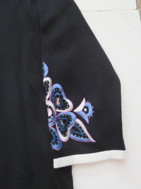 Bob Mackie Beaded Sweater Size Xs Cardigan