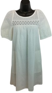 Marc by Marc Jacobs short dress White Eyelet Shift on Tradesy