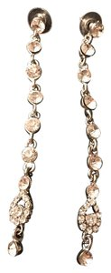 Kate Spade Crystal Long Drop Earrings