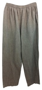 Eskandar Linen Brown Pants