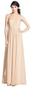 Jenny Yoo Floor Length Chiffon Dress