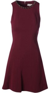 MICHAEL Michael Kors Embellished Fi & Flare Dress