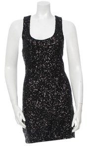 Alice + Olivia Sequin Silk New Year's Eve Cocktail Dress