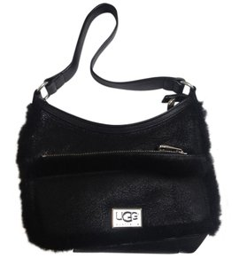 UGG Australia Shearling Sheepskin Hobo Bag
