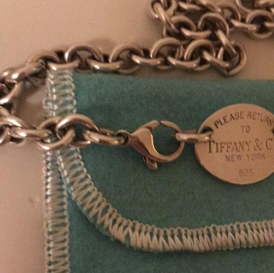 Tiffany & Co. Tiffany & Co Return to Tiffany Oval Tag Necklace