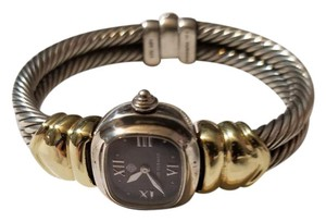 David Yurman David Yurman Cable Ladies Watch in 14K Yellow Gold & Sterling Silver