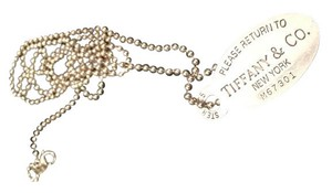 Tiffany & Co. Tiffany & Co. Dog Tag Necklace