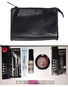bareMinerals bareMinerals Cosmetics Bag w/ a Variety of Makeup!