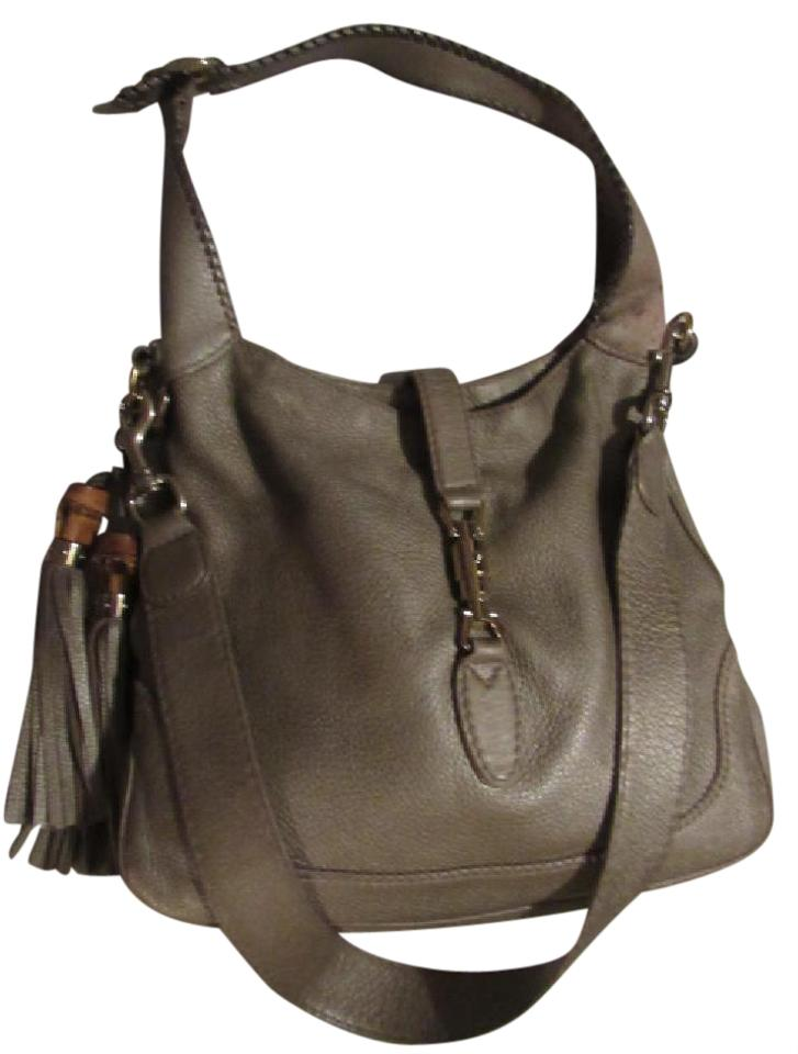 Gucci Jackie O Piston Closure High End Bohemian Removable Strap Excellent Vintage Hobo Bag