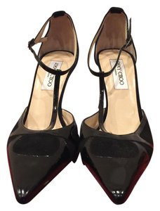 Jimmy Choo Classic Wear To Work Fashion Sandie Black Pumps